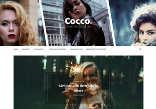 Cocco Responsive Blogger Template Free Download