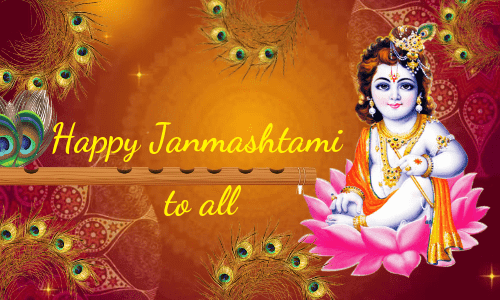 Happy Janmashtami to all