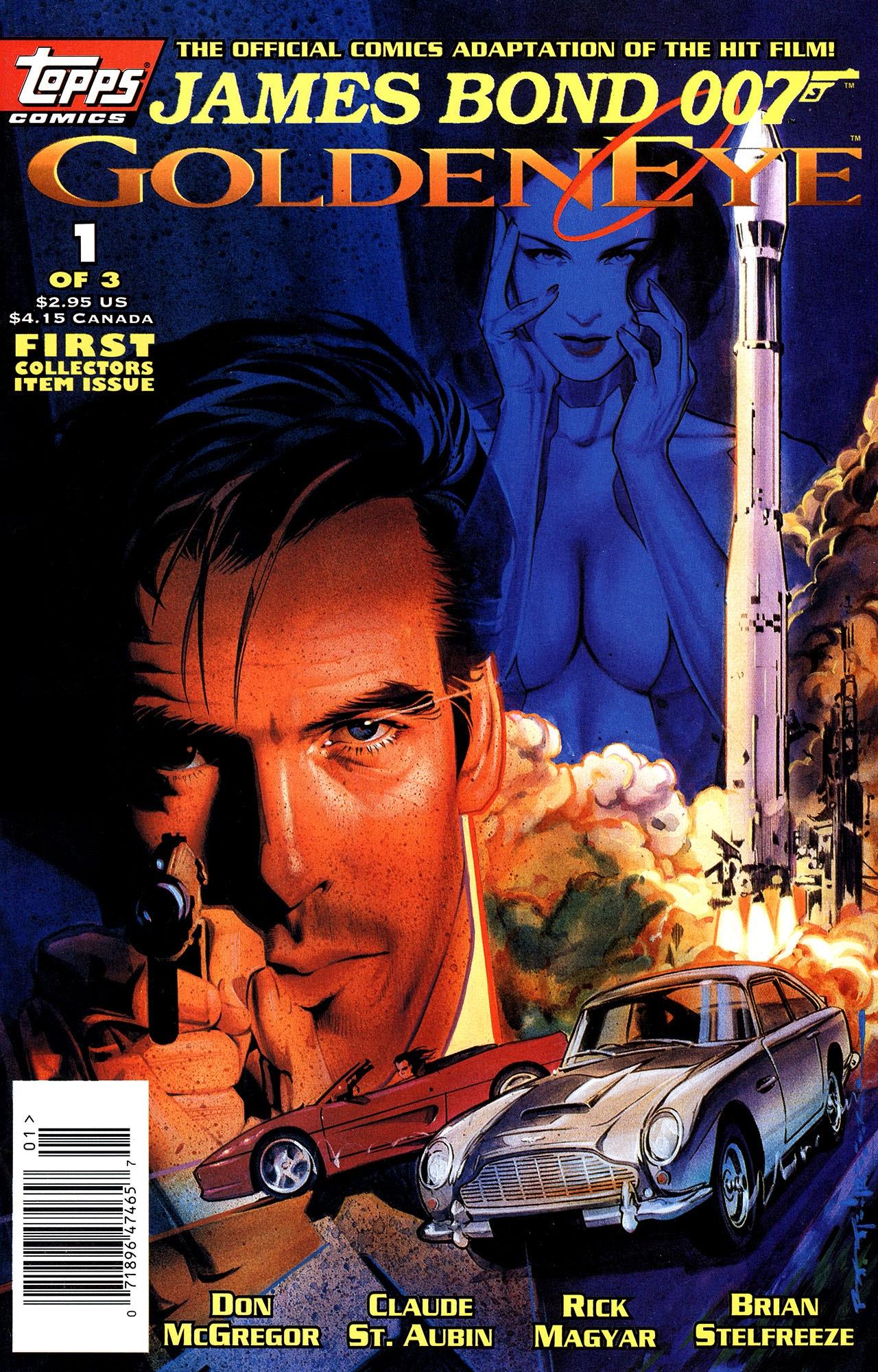 James Bond 007 Goldeneye issue 1 - Page 1