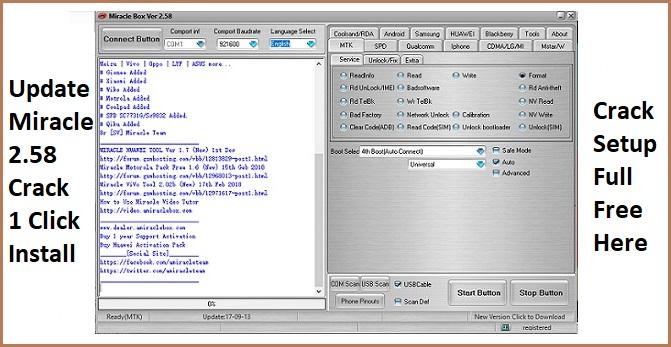 Miracle Box V2.58 Setup (Run Without Box) Free Download