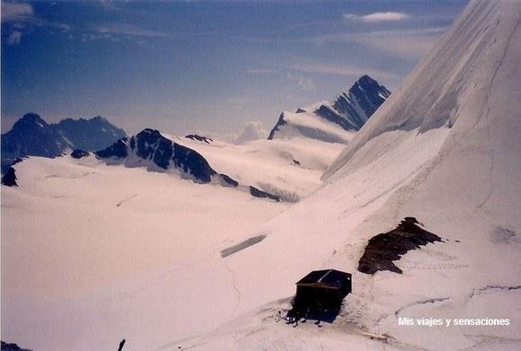 Cima del Jungfrau, Suiza