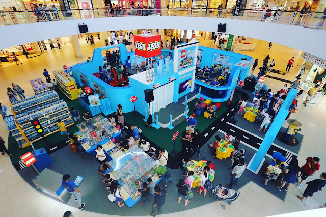 The LEGO City Adventures event at Queensbay Mall Penang