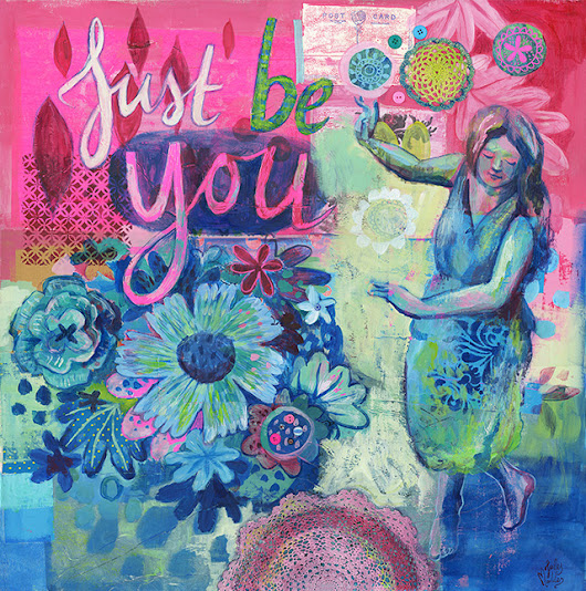 New Art Print: Just be You