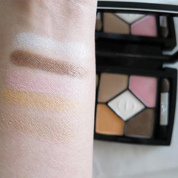 Dior 5 Couleurs Polka Dots eyeshadow palette 536 'Escapade'