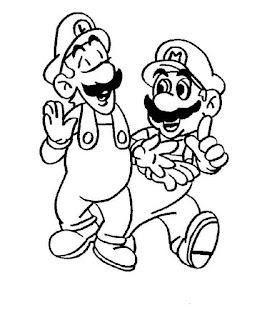 Ausmalbilder Nintendo zum Ausdrucken