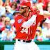 #MLB: Bryce Harper acuerda contrato de $ 21.625 millones con Nats para 2018