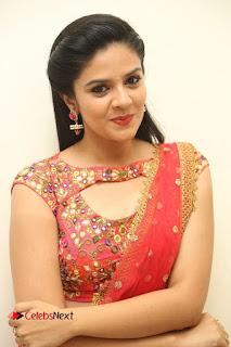 Anchor Srimukhi Pictures in Half Saree at Aatadukundam Raa Movie Audio Launch  0095.JPG