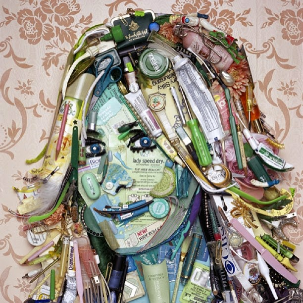 31-Joan-Vanark-Jason-Mecier-Paintings-or-Sculptures-in-Portrait-Collage-www-designstack-co