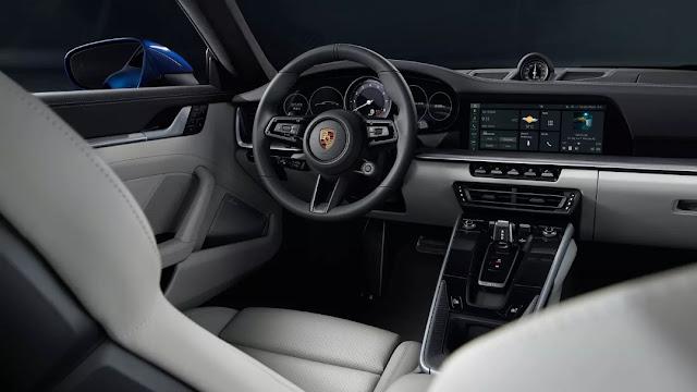 पोर्श 911 कैरेरा एस कूप dashbord