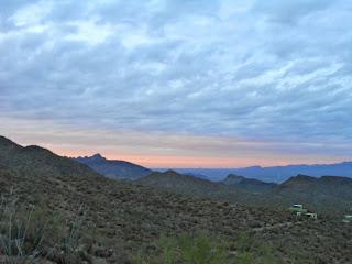 sunset tucson mountain park tucson arizona