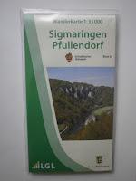 Neue Wanderkarte 1:35.000 Sigmaringen Pfullendorf
