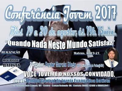 CONFERÊNCIA JOVEM BATISTA 2017