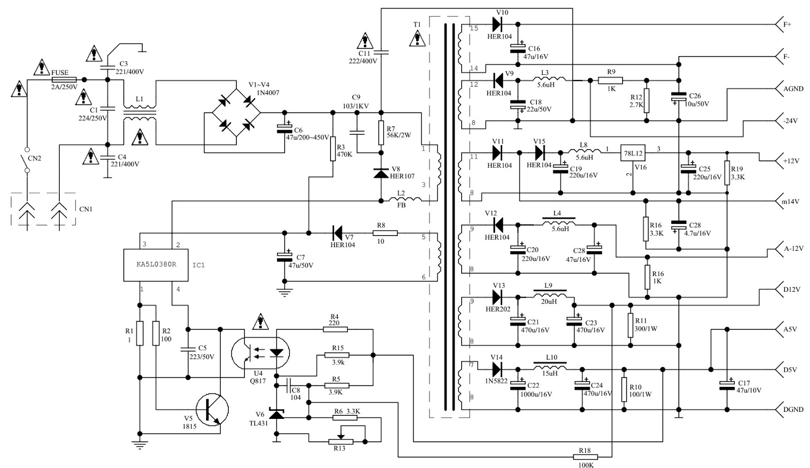 sony home theatre circuit diagram akai htc s 01t dvd home theater system [ 1600 x 924 Pixel ]