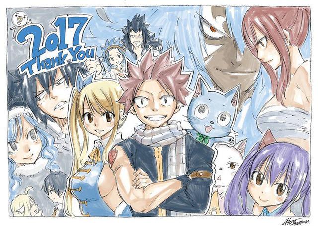 El autor de Fairy Tail (Hiro Mashima) prepara una nueva serie para 2018