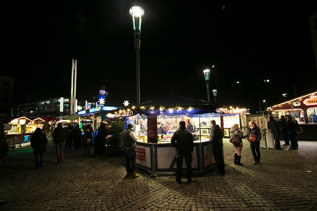Mercatino di Postplatz-Dresda