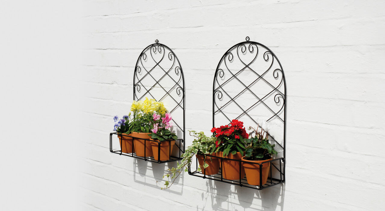 100 planters that hang on the wall aliexpress com buy 64 pocket garden pots vertical - Wall mounted planters outdoor ...