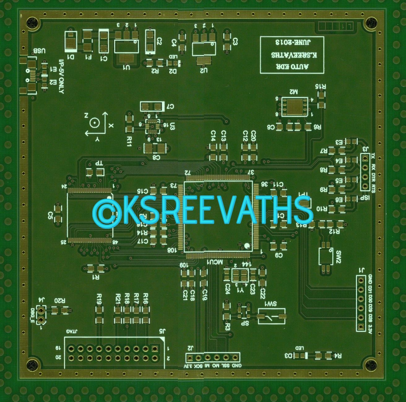 The Electronic Whizz May 2016 Circuit Board Assembly Multilayer Pcb For Automobile 4 A Layer Was Used To Reduce Emi Rfi Interferences Because Multi Can Better Protect High Speed Data Lines That Transfer