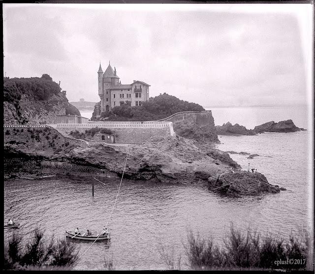 Biarritz, villa Beltza, 1904