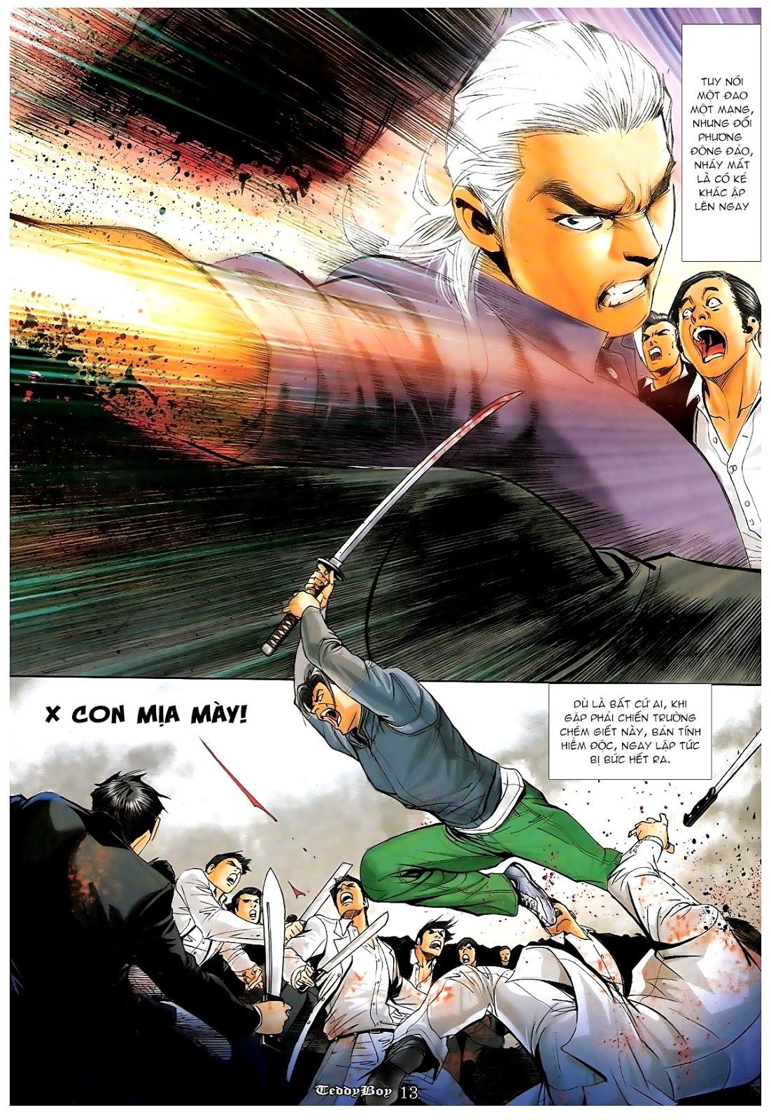 Người Trong Giang Hồ - Chapter 1219: Sống chết cũng theo - Pic 11