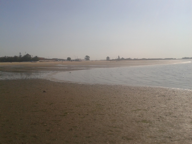 Rio Tejo em Alcochete