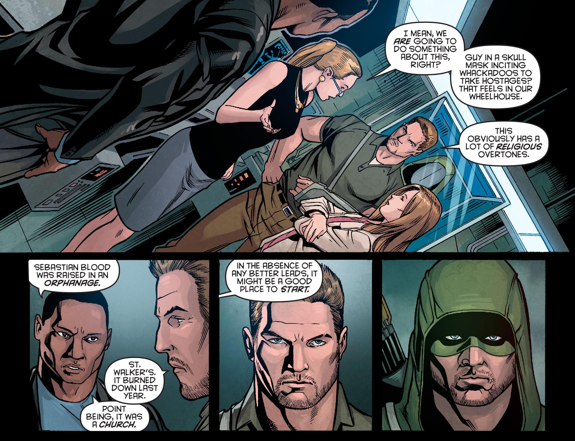 Read online Arrow: Season 2.5 [I] comic -  Issue #5 - 9
