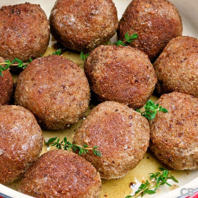 Echte Limburgse gehaktballen met een lekker dik korstje