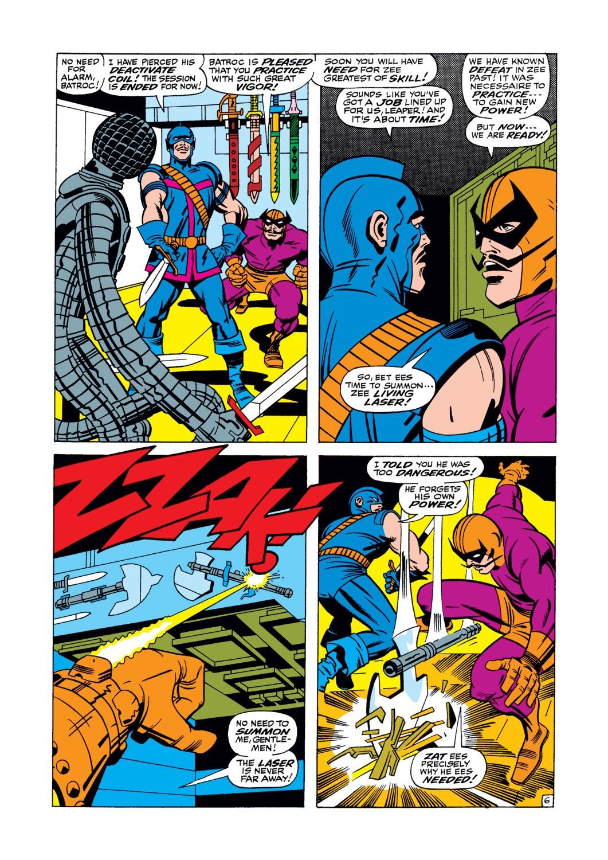 Read online Captain America (1968) comic -  Issue #105 - 7