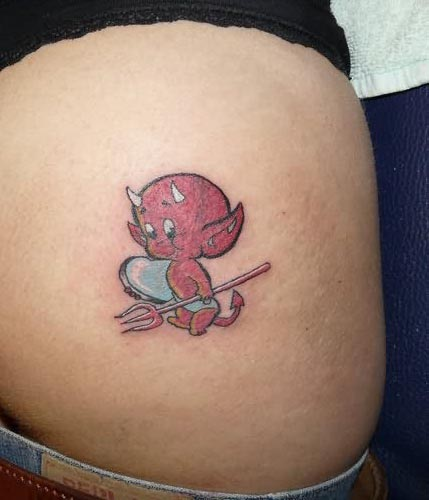 Baby Devil Tattoos