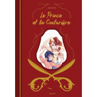 Le Prince et la Couturière de Jen Wang bd Bande-dessinée livre scénariste scénario BDocube blog news actus sortie éditeur édition prince amour