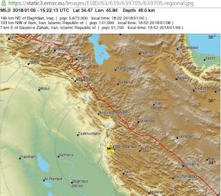 5.1-magnitude earthquake strikes Iran