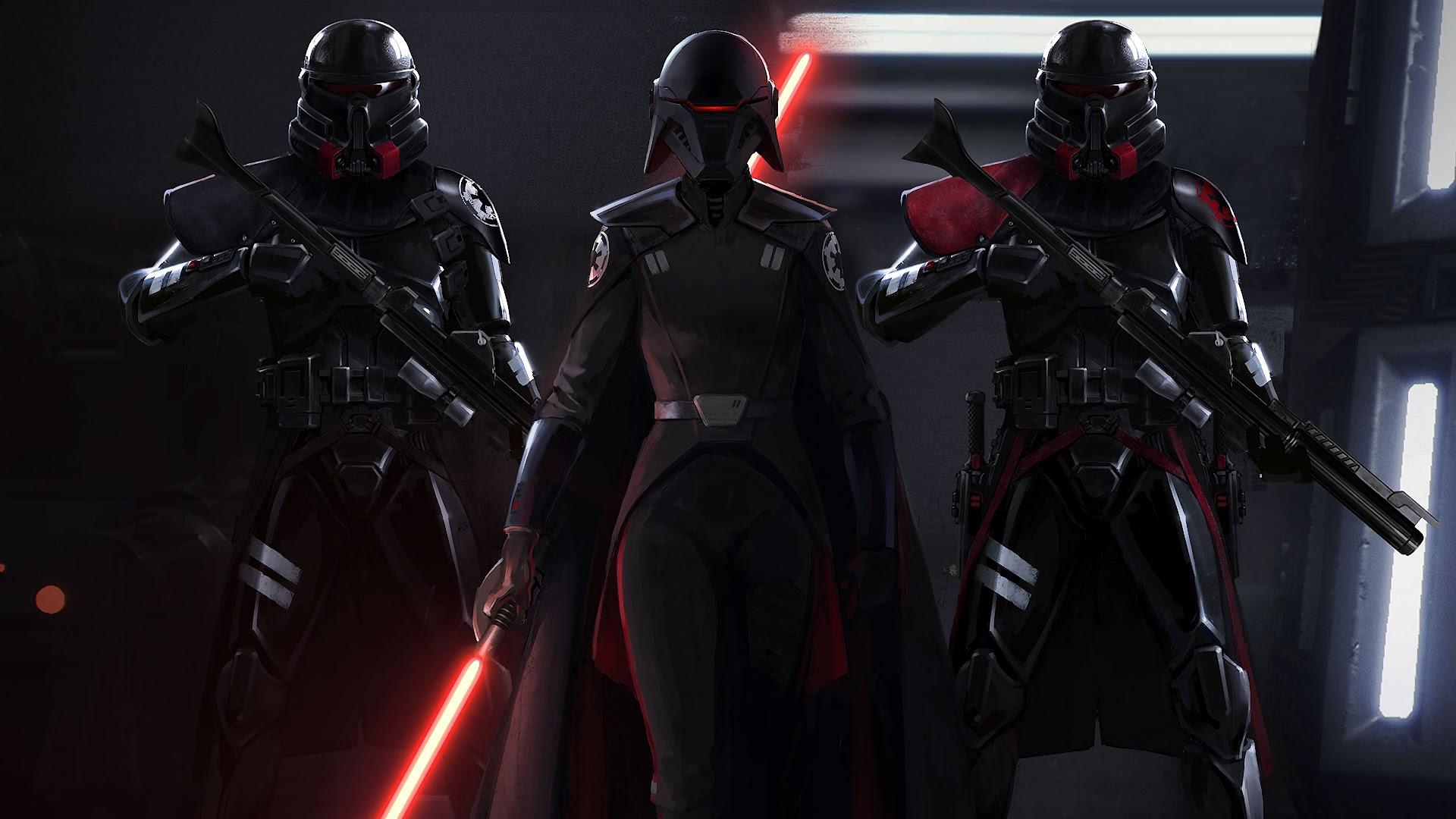 Star Wars Jedi Fallen Order Stormtroopers 4k Wallpaper 11