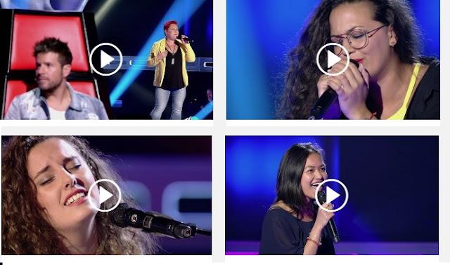 Quintas audiciones a Ciegas La Voz 2017