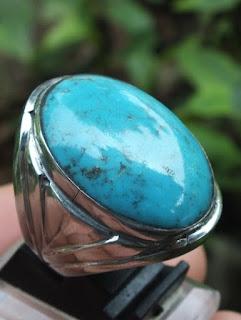 batu pirus biru