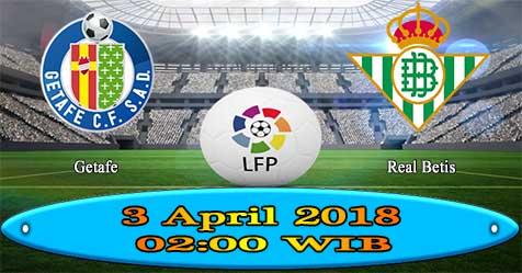 Prediksi Bola855 Getafe vs Real Betis 3 April 2018