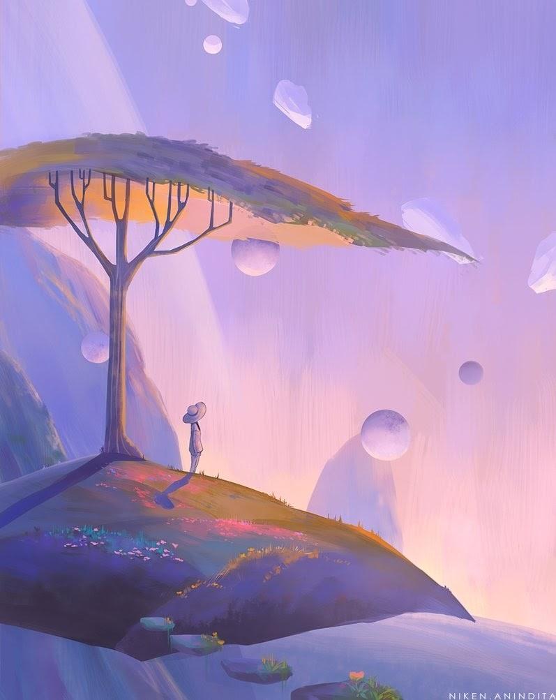 07-Garden-in-the-Sky-Niken-Anindita-megatruh-Surreal-and-Fantasy-Meet-in-Digital-Art-www-designstack-co