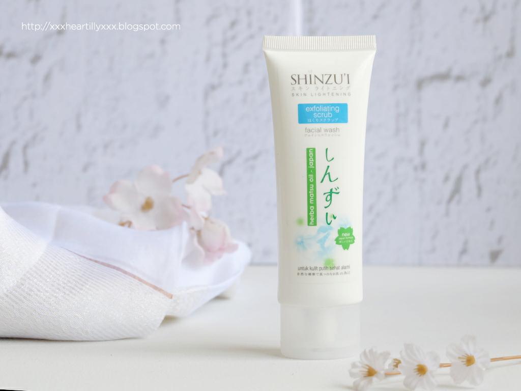 Review Shinzui Skin Lightening Facial Wash Claren Stefanie Kyaa Wanginya Sama Kayak Sabun Yang Kirei Soft Calming Banget Kadang Suka Galau Mau Pake Varian Mana Karena Matsu Juga Saya