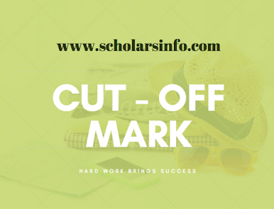 Tansian University Cut off Mark