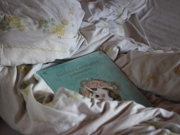 5 dôvodov prečo si prečítať ║ Justínka a asistenčný jednorožec - Kateřina Maďarková