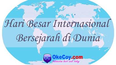 Hari Internasional Bersejarah di Dunia