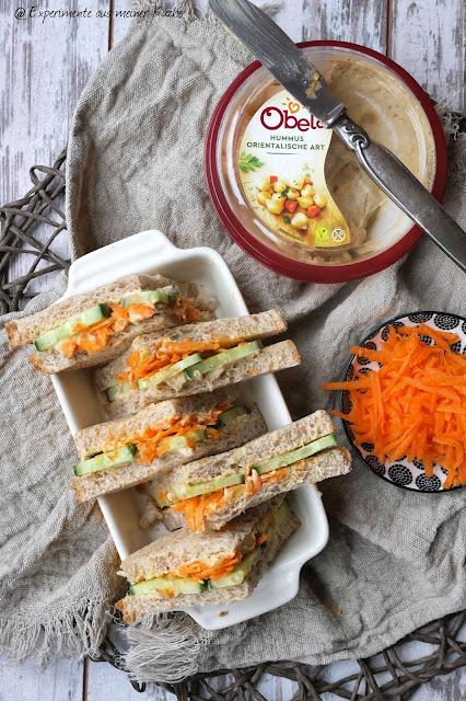 Hummus-Sandwich | Essen | Rezept
