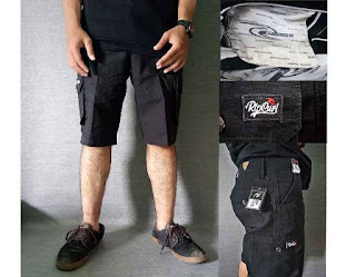 Celana Cargo pendek pria