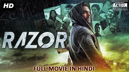 Razor 2018 Hindi Dubbed 850MB HDRip 720p