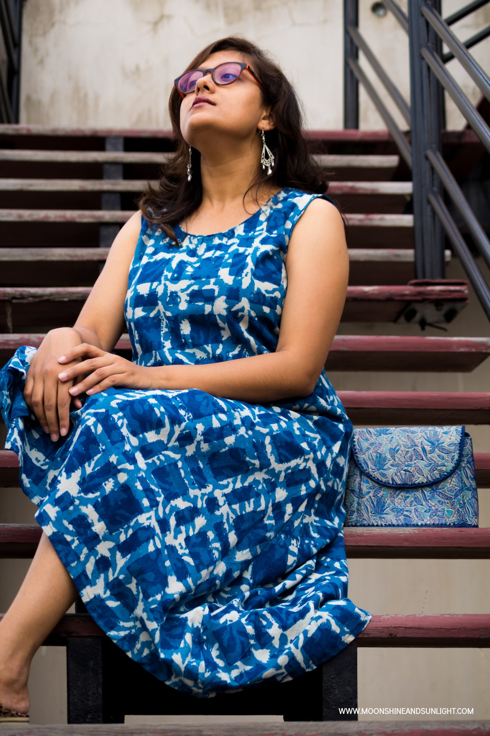 Bangalore fashion Blogger, Handmade dress