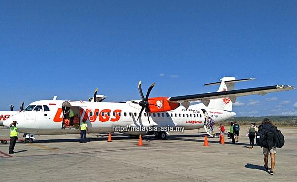 Wings Abadi Airline Kupang Alor Flight