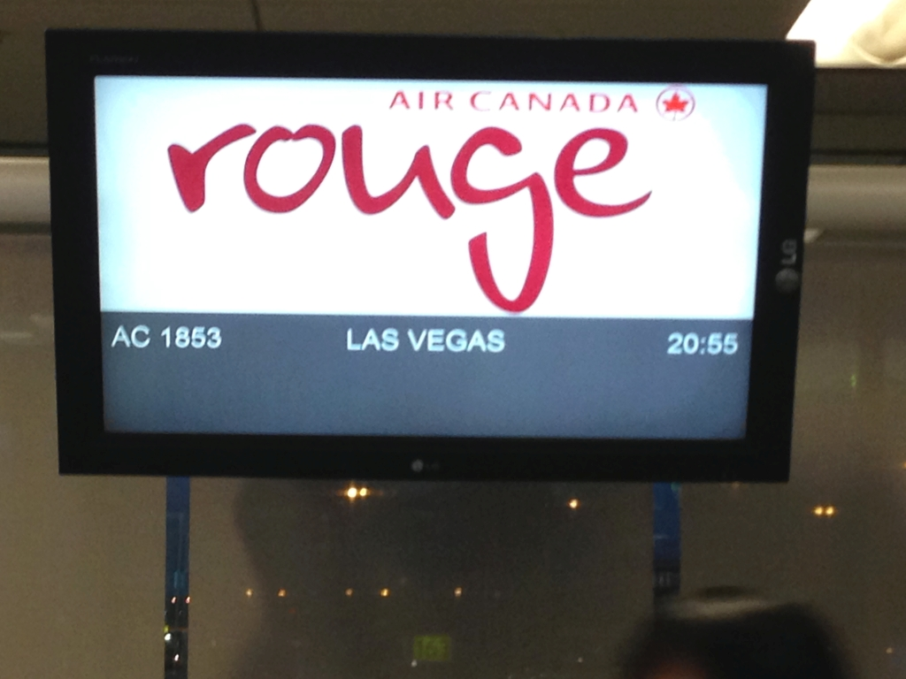 Air Canada Rouge Las Vegas