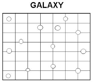Logic Puzzles: Galaxy