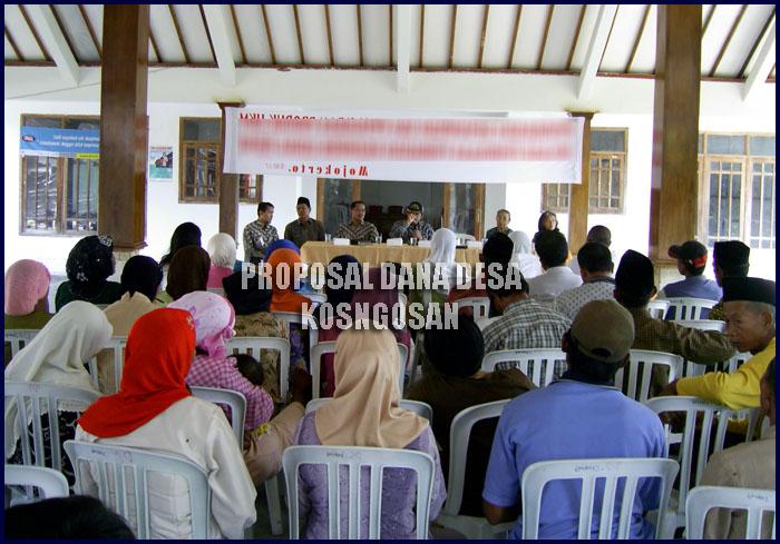 proposal dana desa