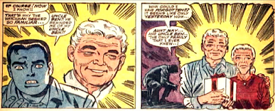 Amazing Spider-Man #50, john romita, peter parker sees uncle ben in flashback
