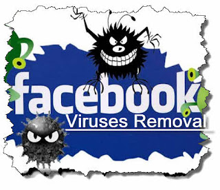 how to remove facebook viruses