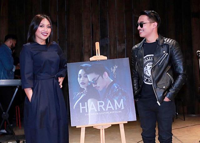 Image result for Lirik Lagu Haram - Hael Husaini dan Dayang Nurfaizah